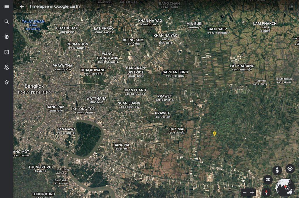 Google Earth เปิดประสบการณ์ไทม์แลปส์แบบโต้ตอบ 4D