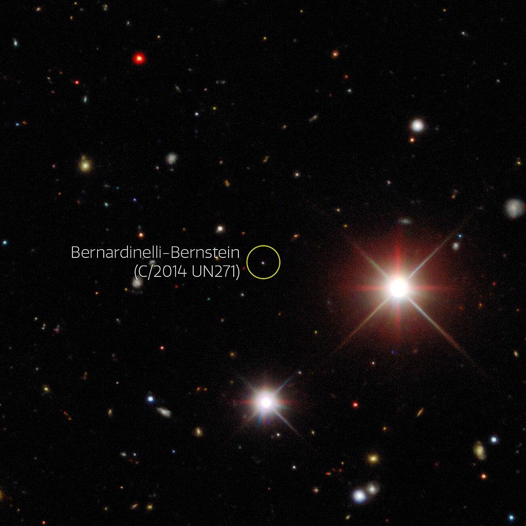 ดาวหางขนาดยักษ์ที่เพิ่งค้นพบ